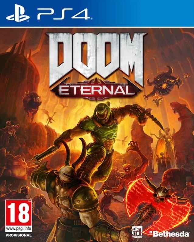 PS4 Doom Eternal Nové