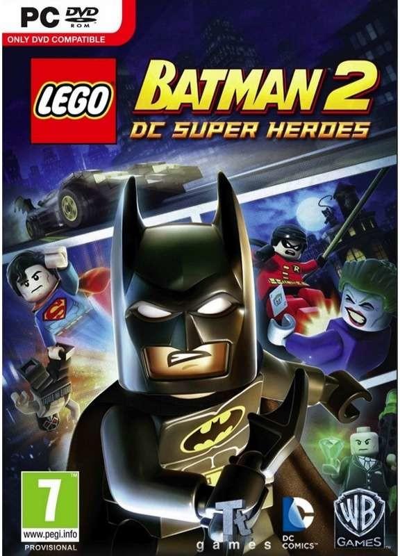 PC LEGO Batman 2 DC Super Heroes Nové