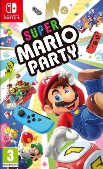 Switch Super Mario Party Nové
