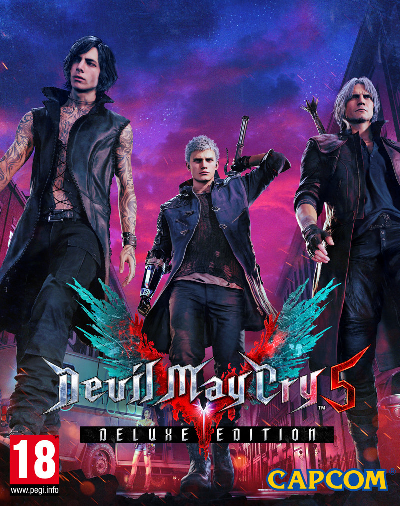 XONE Devil May Cry 5 Deluxe Edition Steelbook Nové