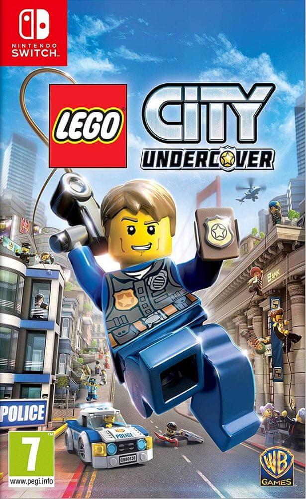 Switch LEGO City Undercover Nové