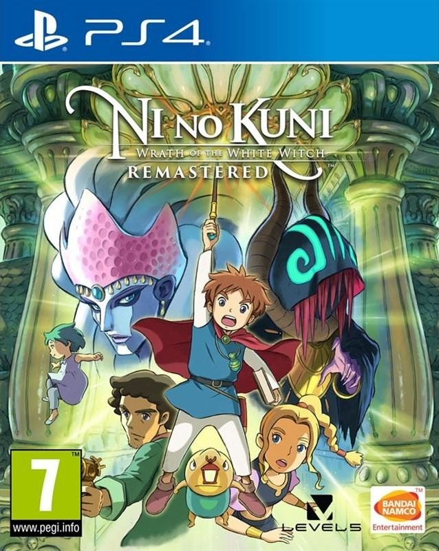 PS4 Ni No Kuni Wrath of the White Witch Remastered Nové