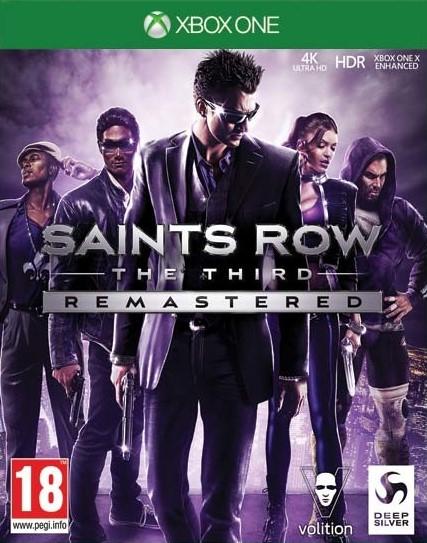 XONE Saints Row The Third Remastered CZ Nové