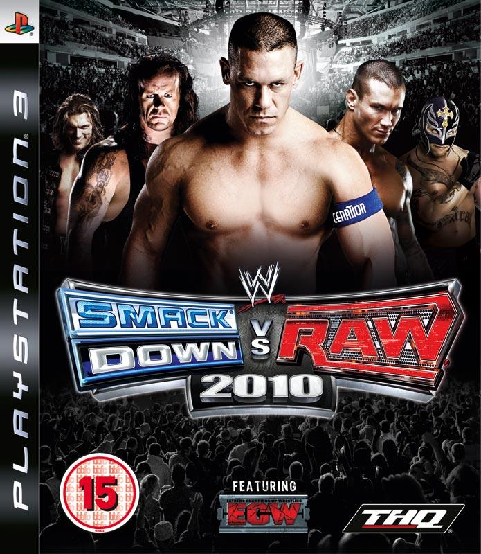 PS3 WWE Smackdown vs Raw 2010