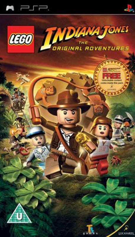 PSP LEGO Indiana Jones The Original Adventures