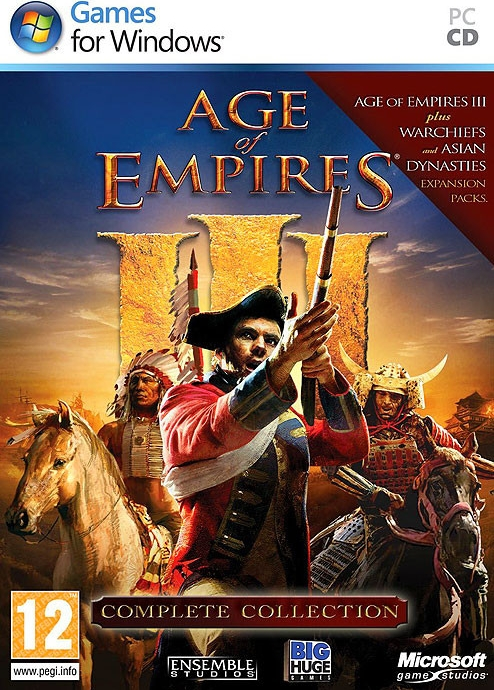 PC Age of Empires 3 Complete Collection OBAL Nové