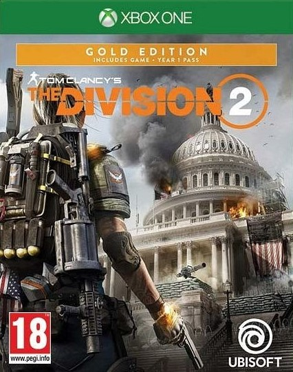 XONE Tom Clancys The Division 2 Gold Edition CZ Nové