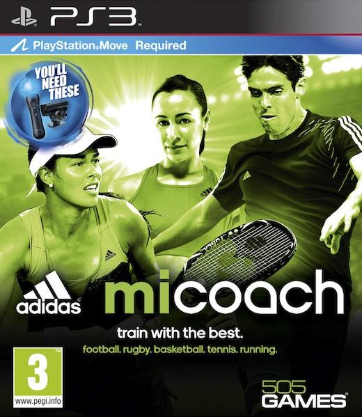 PS3 Adidas miCoach Nové