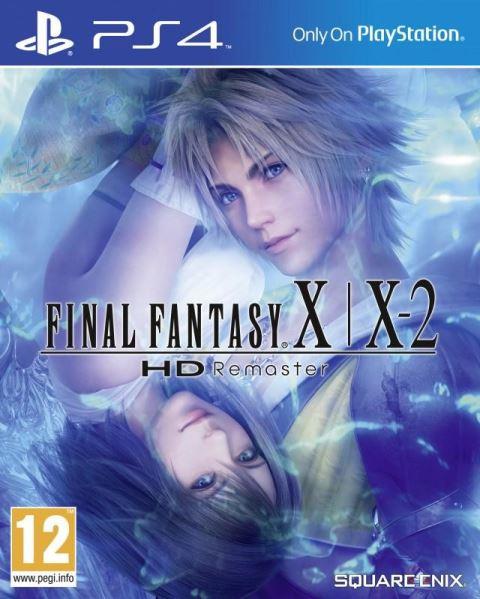 PS4 Final Fantasy X   X-2 HD Remaster - jen hra