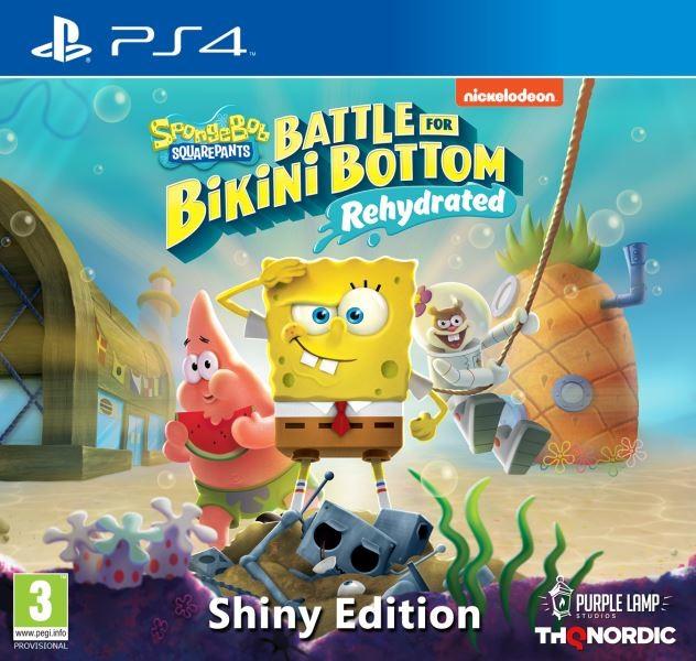 PS4 Spongebob SquarePants Battle for Bikini Bottom Rehydrated Shiny Edition Nové