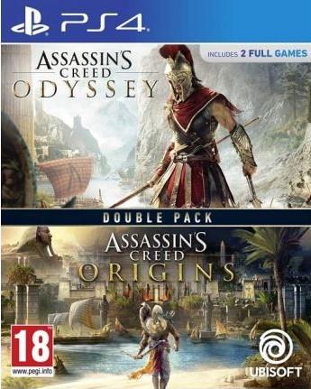 PS4 Assassins Creed Odyssey CZ - Assassins Creed Origins CZ Nové