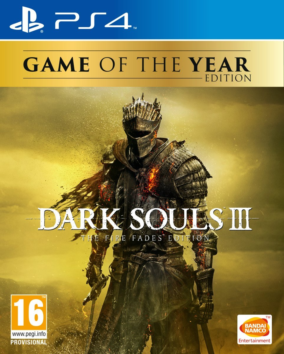 PS4 Dark Souls 3 The Fire Fades Edition Game of The Year Edition Nové