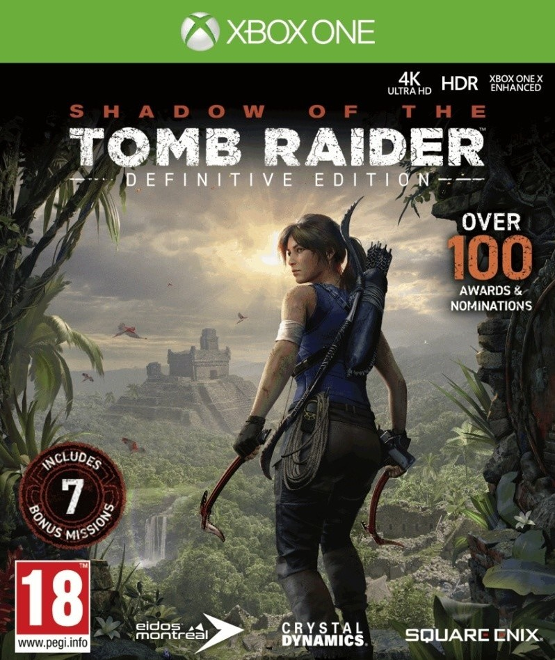 XONE Shadow of the Tomb Raider Definitive Edition Nové