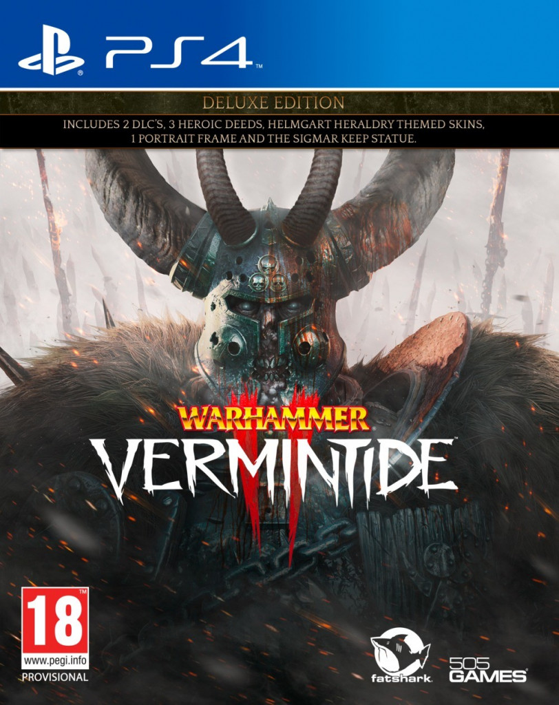 PS4 Warhammer Vermintide 2 Deluxe Edition Nové