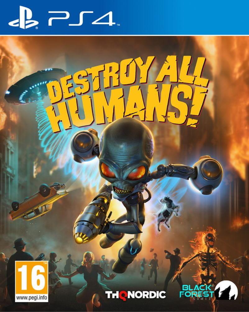 PS4 Destroy All Humans! Nové