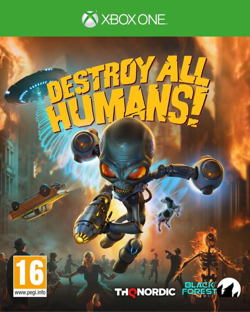 XONE Destroy All Humans! Nové