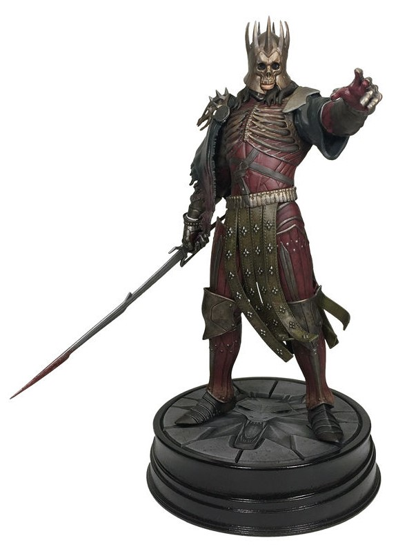 Figurka Dark Horse Witcher 3 Wild Hunt Eredin Breacc Glas Wild Hunt King PVC Statue 20cm Nové