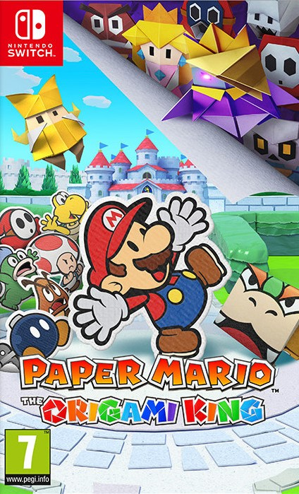 SWITCH Paper Mario The Origami King Nové