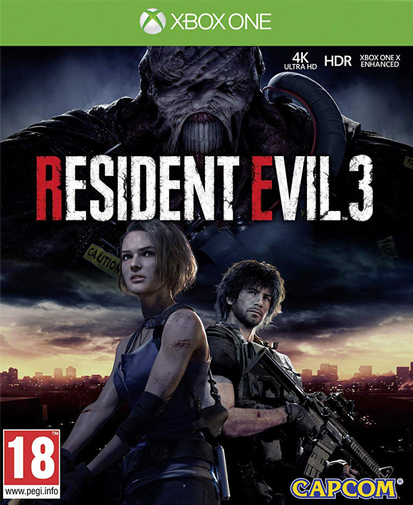XONE Resident Evil 3 Nové