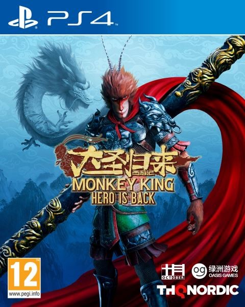 PS4 Monkey King Hero is Back Nové