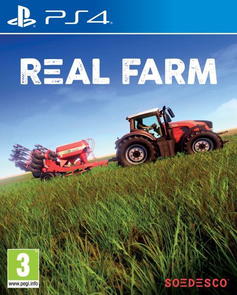 PS4 Real Farm - jen hra