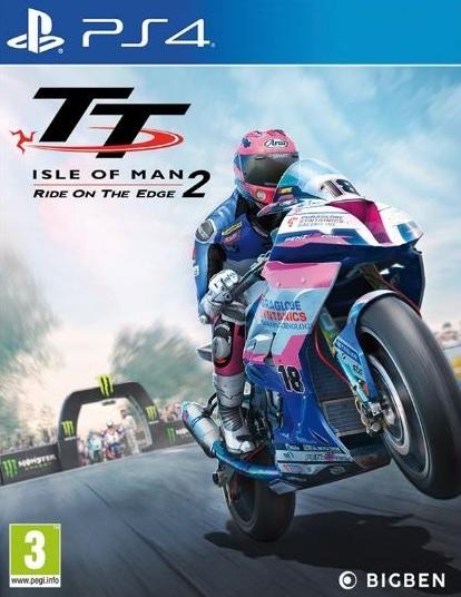 PS4 TT Isle of Man Ride on the Edge 2 Nové