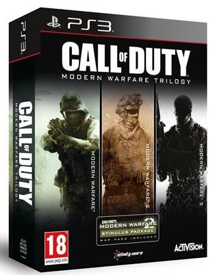 PS3 Call of Duty Modern Warfare Trilogy Nové