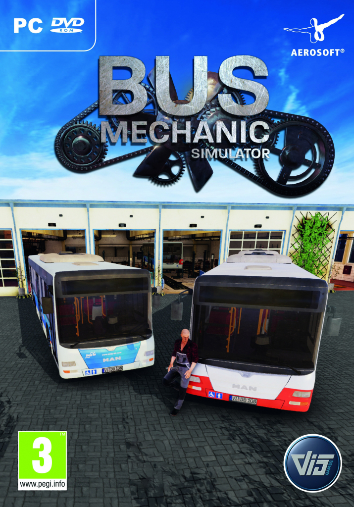 PC Bus Mechanic Simulator Nové