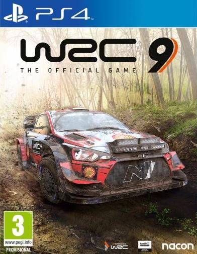 PS4 WRC 9 Nové