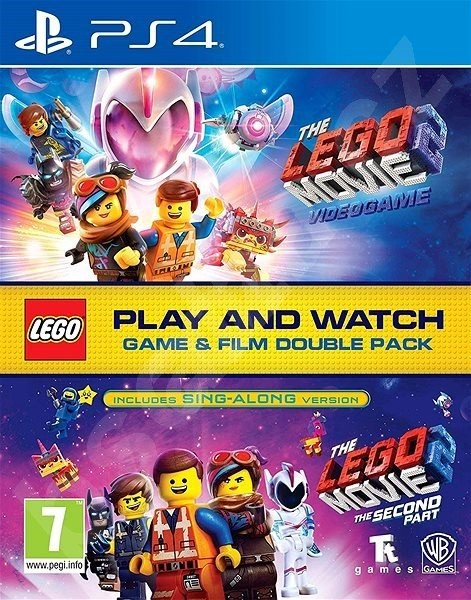 PS4 Lego Movie Videogame 2 Double Pack Nové