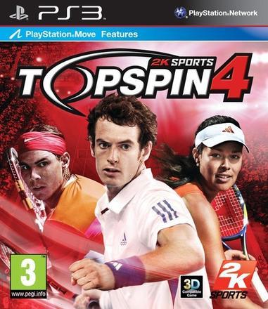 PS3 Top Spin 4 Nové