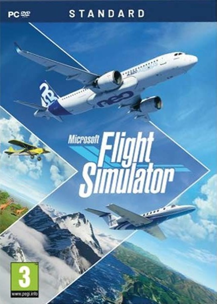 PC Microsoft Flight Simulator Nové