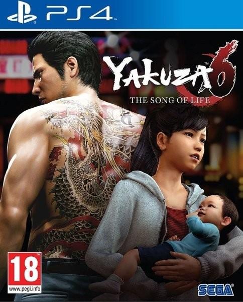 PS4 Yakuza 6 The Song of Life Nové