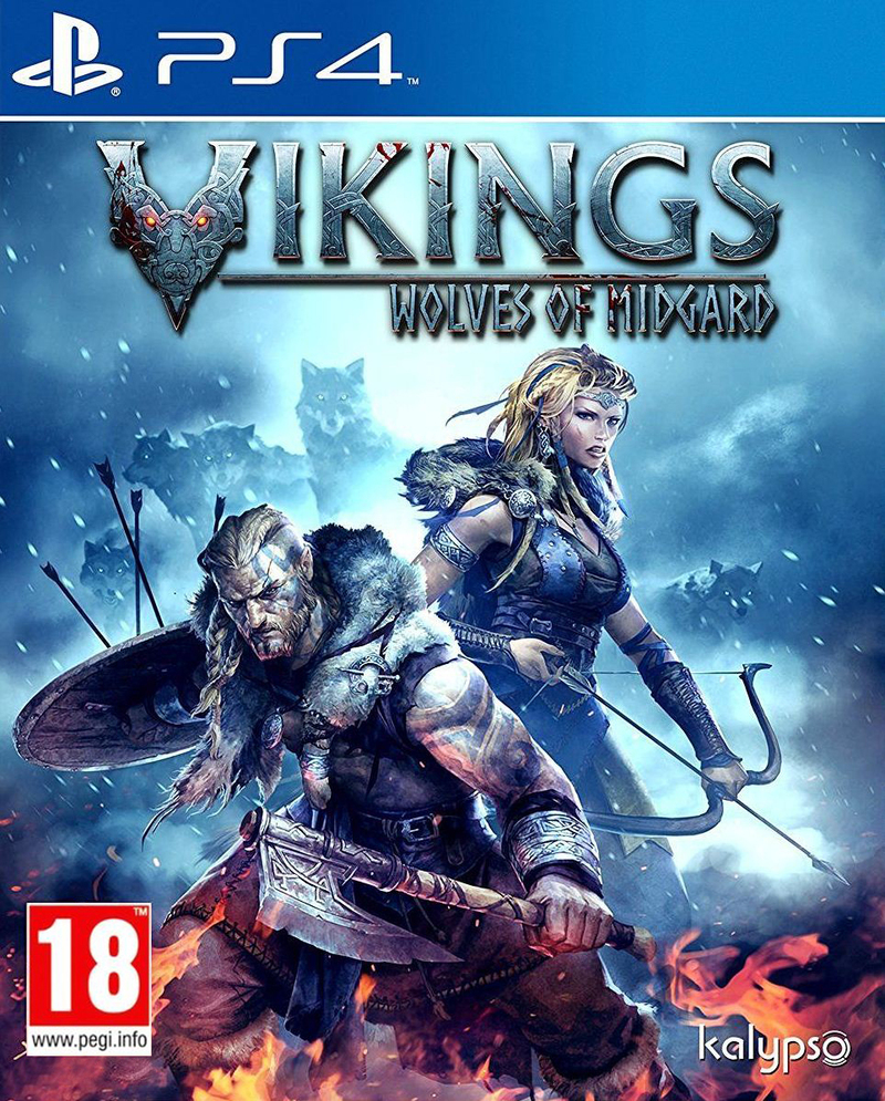 PS4 Vikings Wolves of Midgard - jen hra