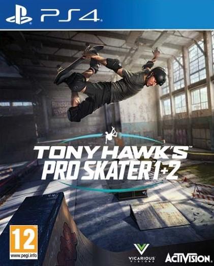 PS4 Tony Hawks Pro Skater 1+2 Nové