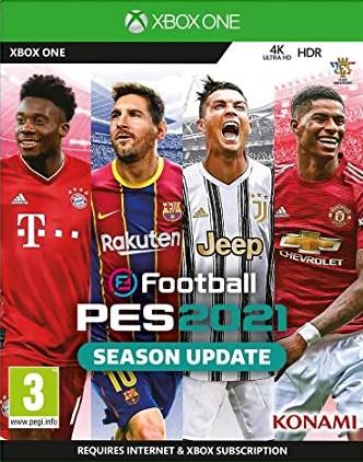 XONE Pro Evolution Soccer 2021 Season Update Nové