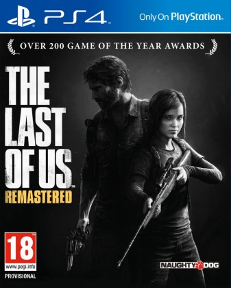 PS4 The Last of Us Remastered CZ Nové