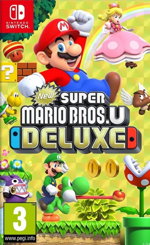 Switch New Super Mario Bros U Deluxe Nové