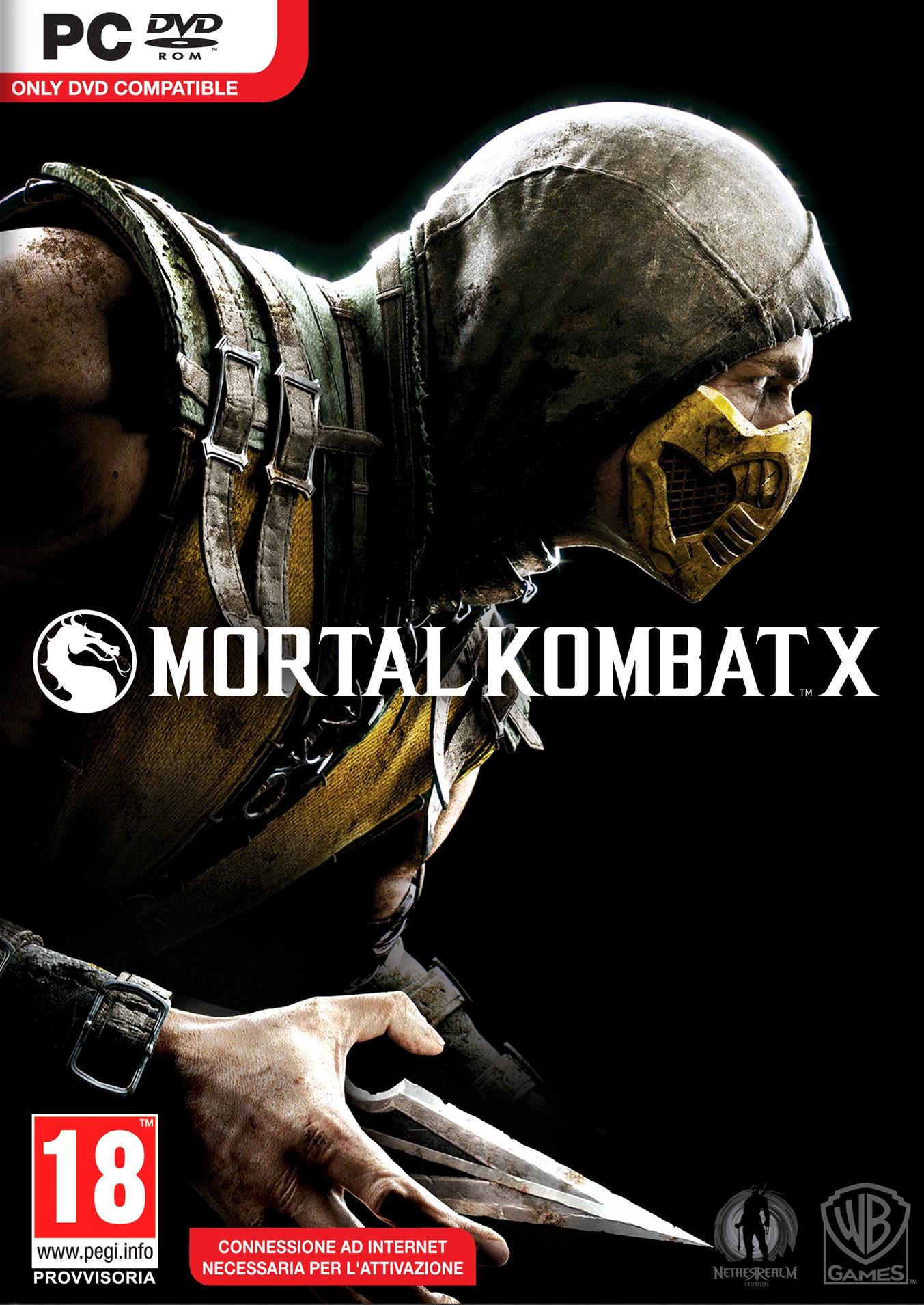 PC Mortal Kombat X Nové