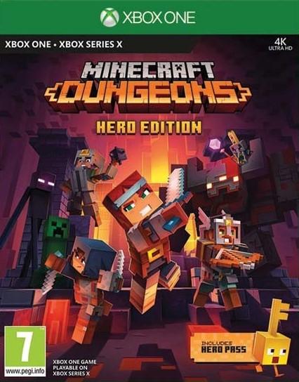 XONE/XSX Minecraft Dungeons Hero Edition Nové