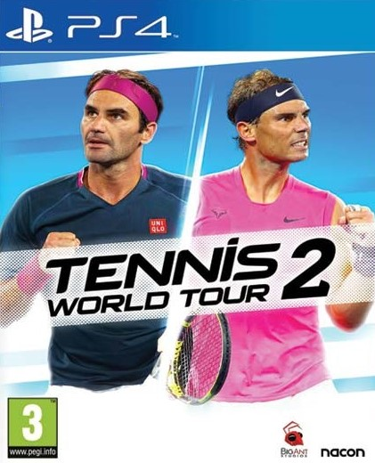 PS4 Tennis World Tour 2 Nové