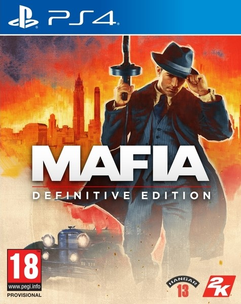 PS4 Mafia Definitive Edition CZ Nové