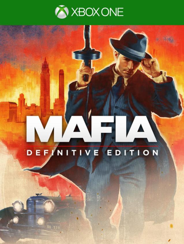 XONE Mafia Definitive Edition CZ Nové