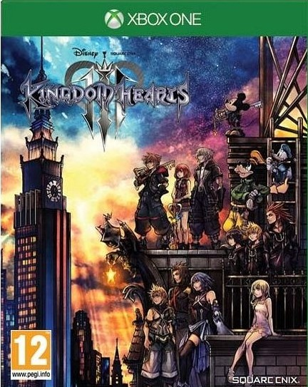 XONE Kingdom Hearts 3 Nové