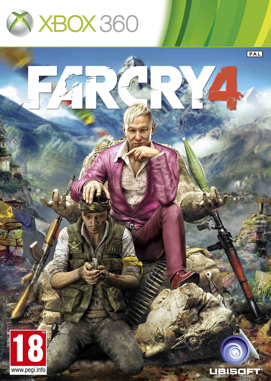 X360 Far Cry 4 CZ