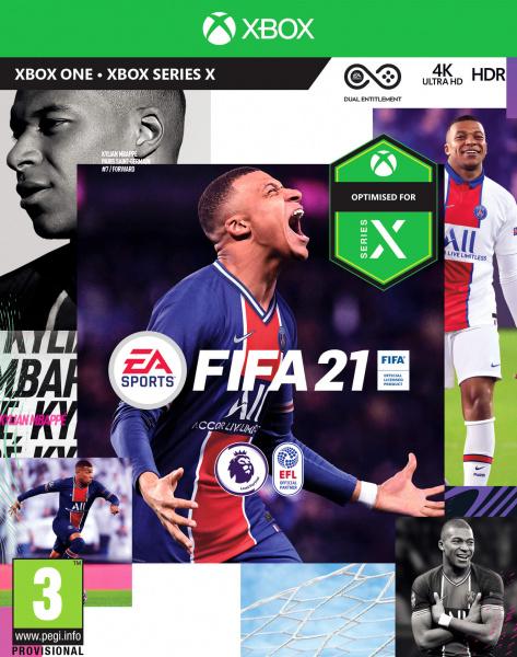 XONE/XSX FIFA 21 CZ Nové