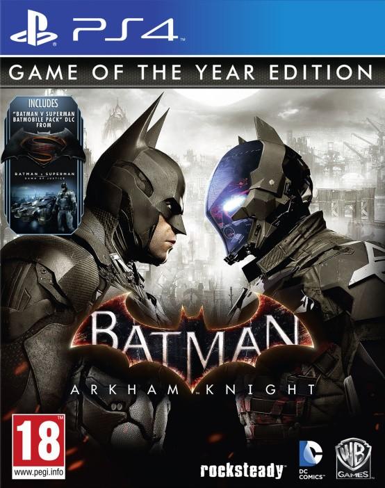 PS4 Batman Arkham Knight GOTY Nové
