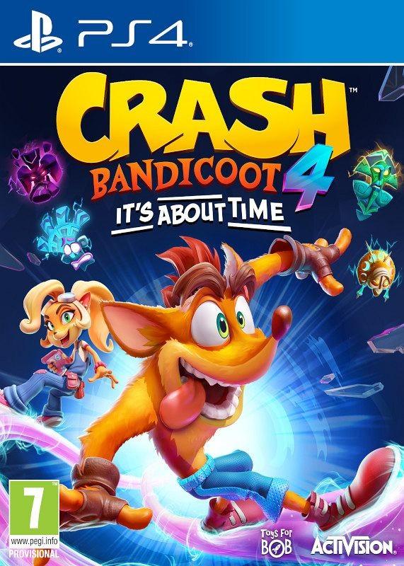 PS4 Crash Bandicoot 4 Its About Time Nové
