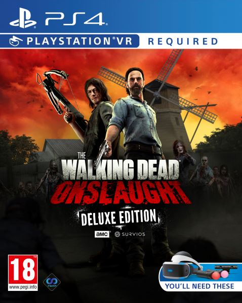 PS4 The Walking Dead Onslaught Deluxe Edition VR Nové