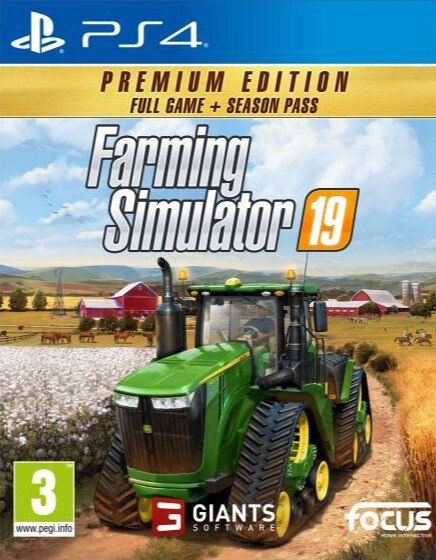 PS4 Farming Simulator 19 Premium Edition CZ Nové